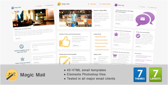 best email templates on themeforest for 2012