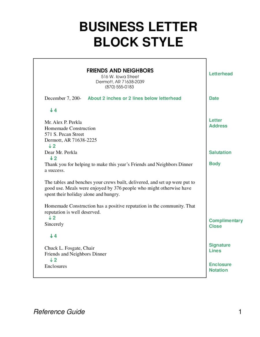 formal letter sample 02