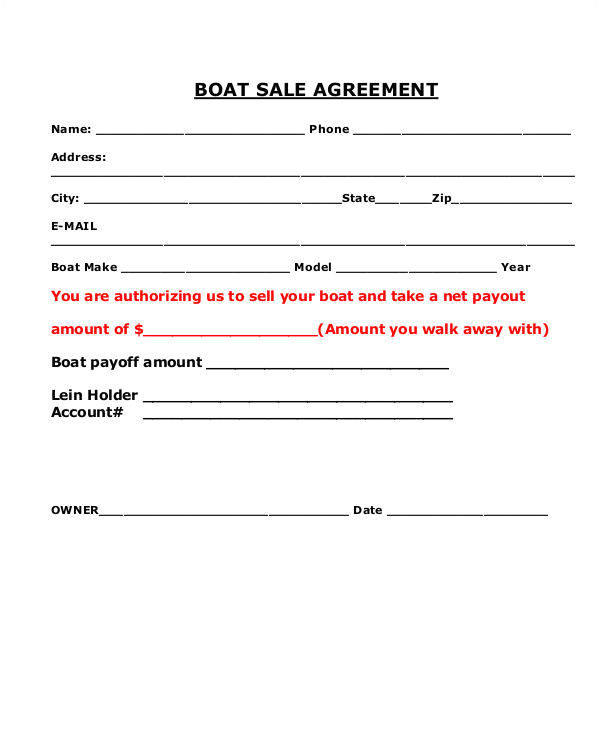 sales agreement contracts