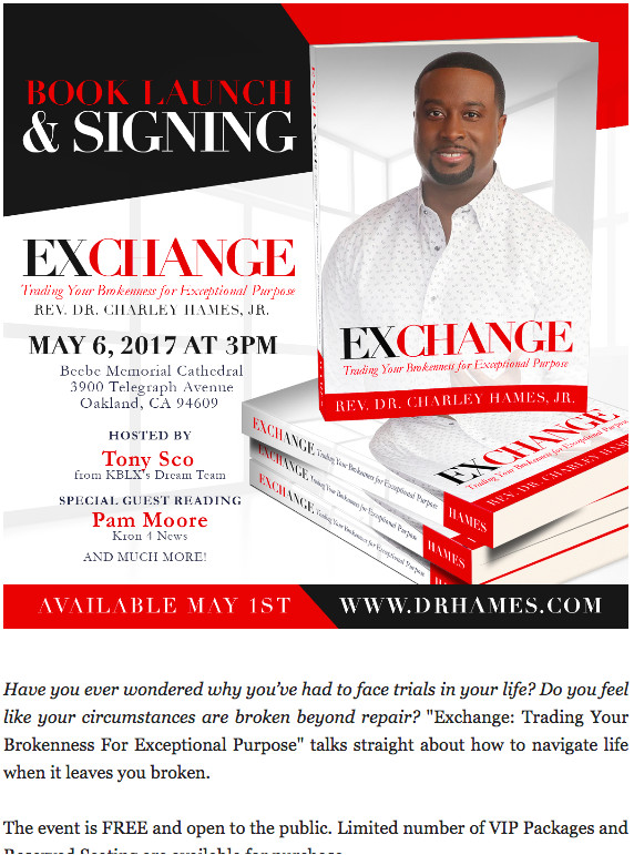 exchange book launch signing