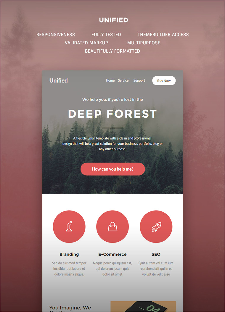 unified e newsletter template