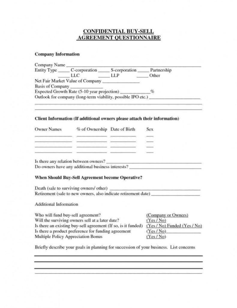 Buy Out Contract Template Buy Out Agreement Sample Real Estate Buyout Pdf Llc