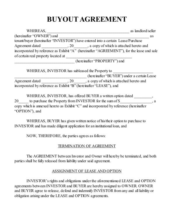real estate agreement form