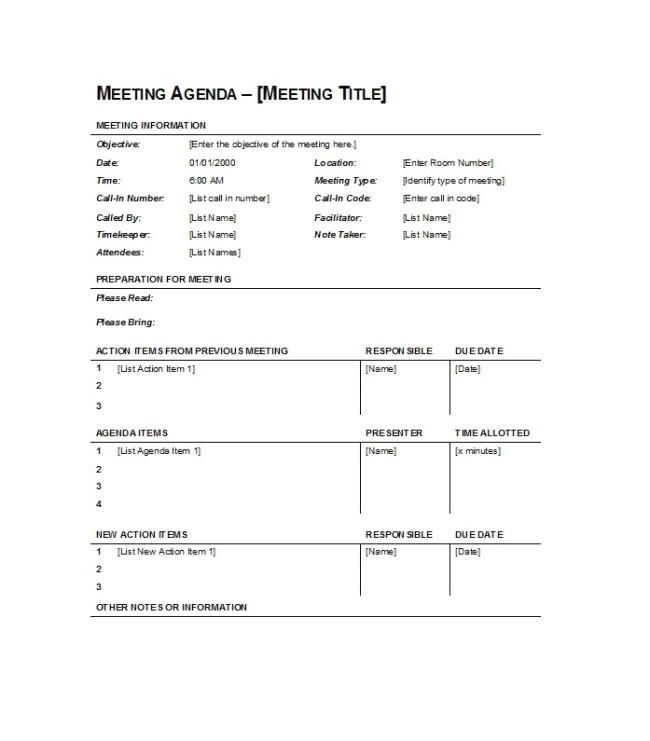 Call for Agenda Items Email Template Simple Meeting Agenda Template Sample Featuring