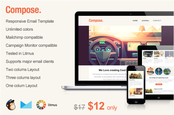 74239 compose responsive email template