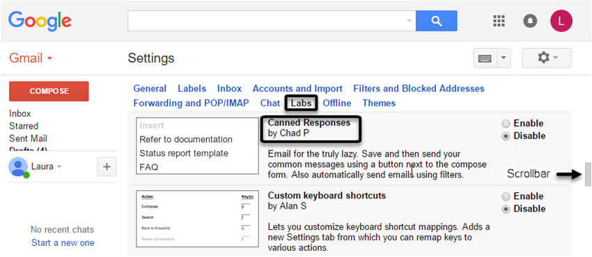 create email templates gmail canned responses