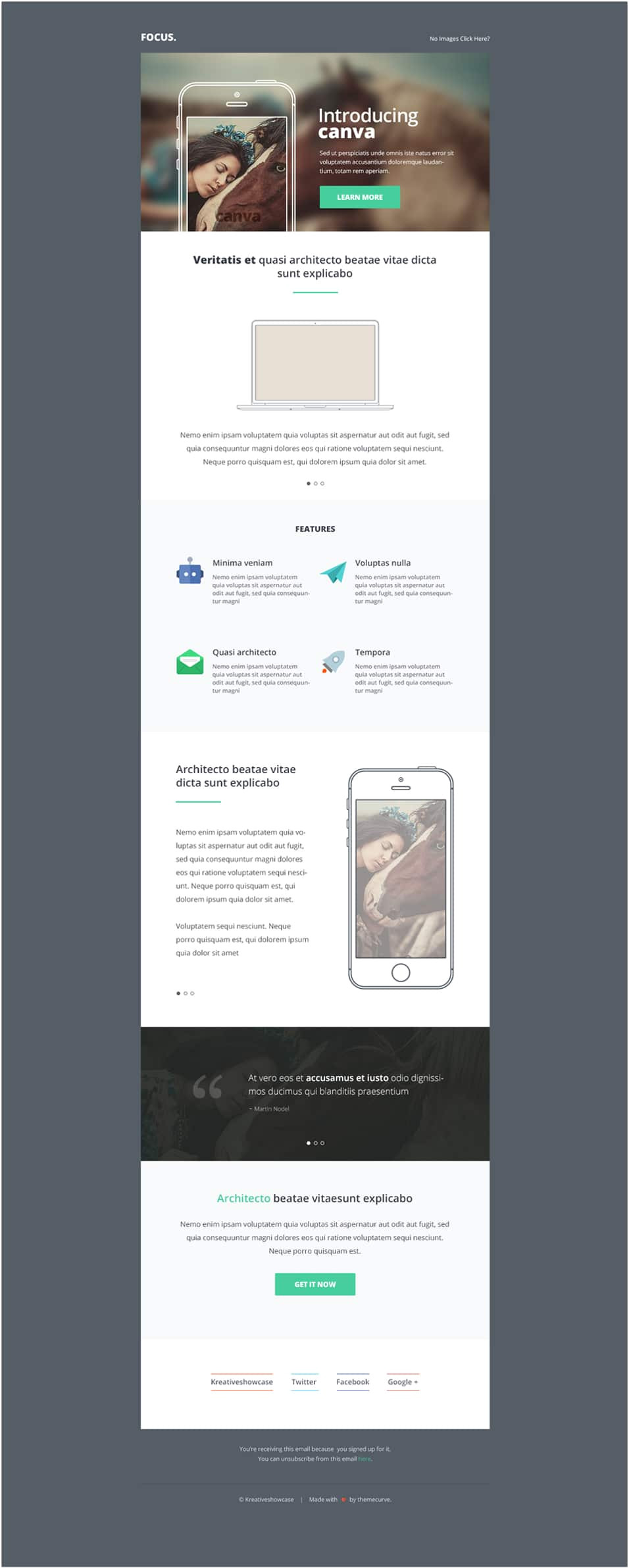 Canva Email Newsletter Template Free Email Newsletter Templates Psd Css Author