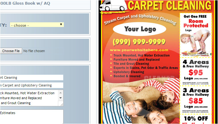 4 carpet cleaning flyer templates