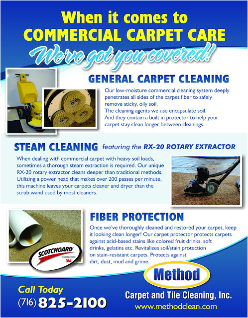 commercial carpet cleaning flyer buffalo