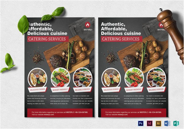 catering flyer