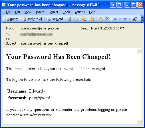 recovering and changing passwords cs