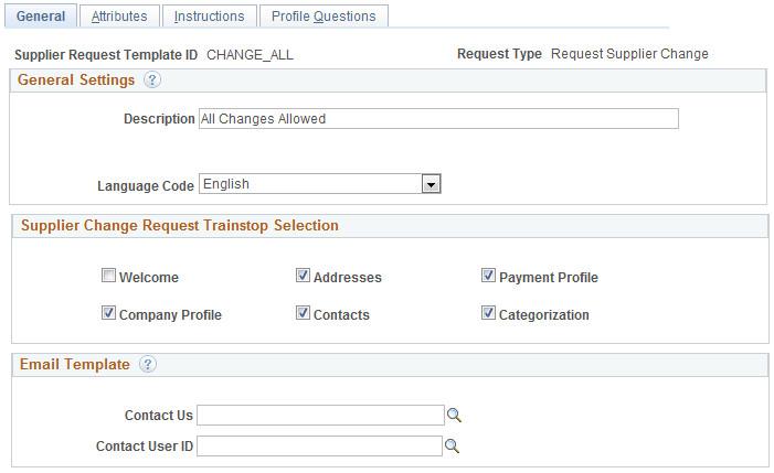 task creatingtemplatesforsupplierchangerequests