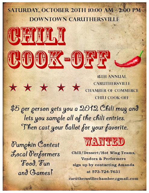 15th annual chili cook off