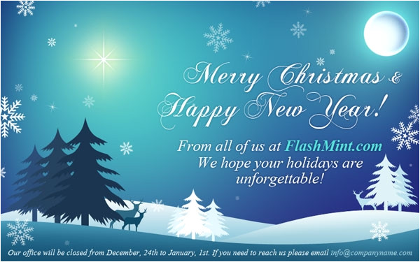 email christmas cards