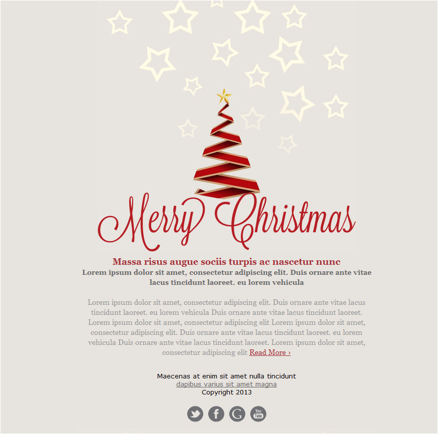 email christmas card greeting