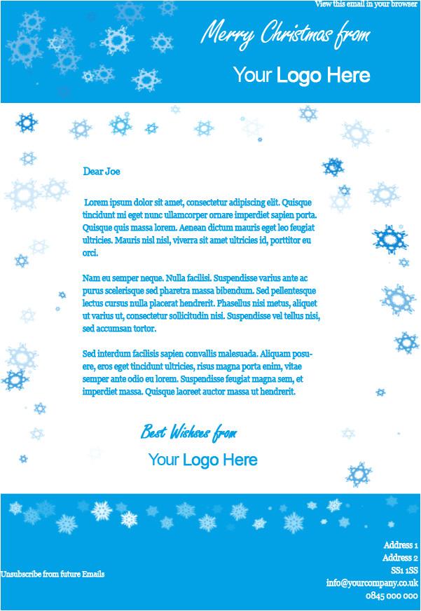 2 free xmas email templates