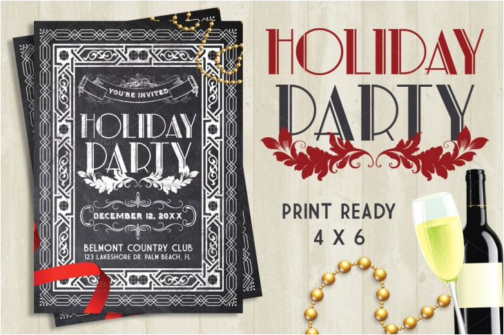 best holiday party flyer