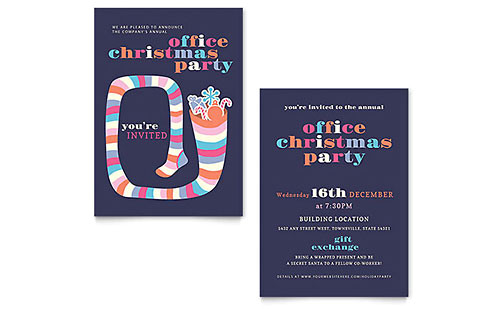 christmas party flyer templates xx1281501d