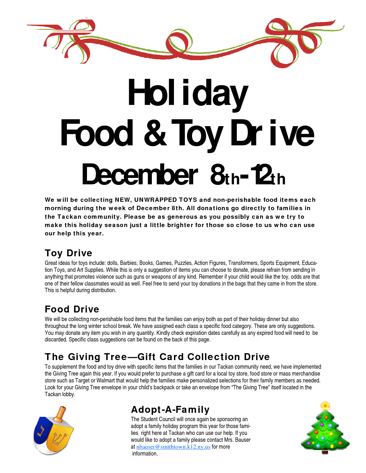 post food drive flyer template free 3915