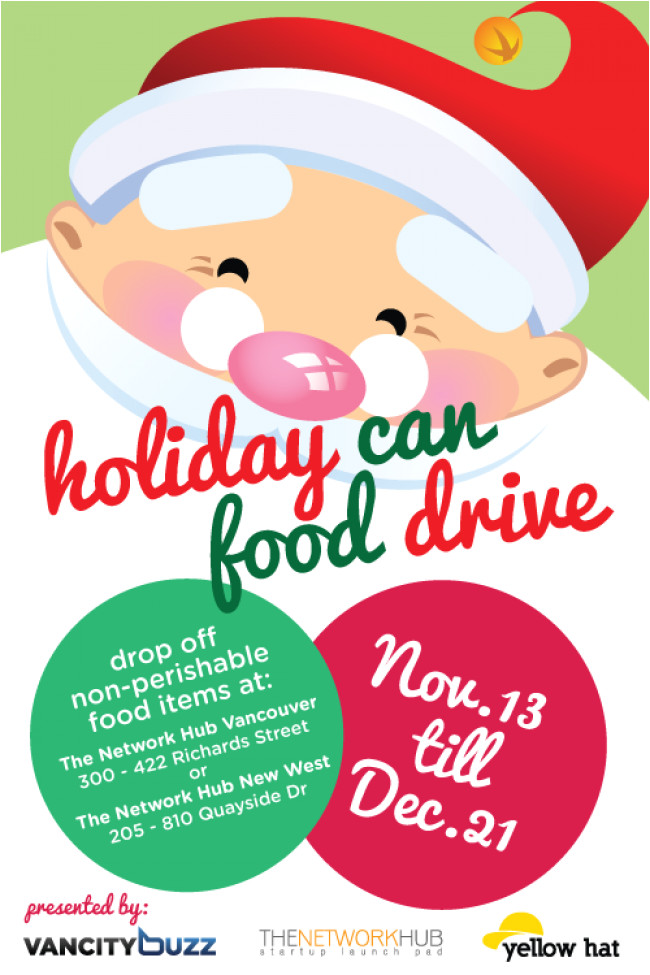 holiday can food drive