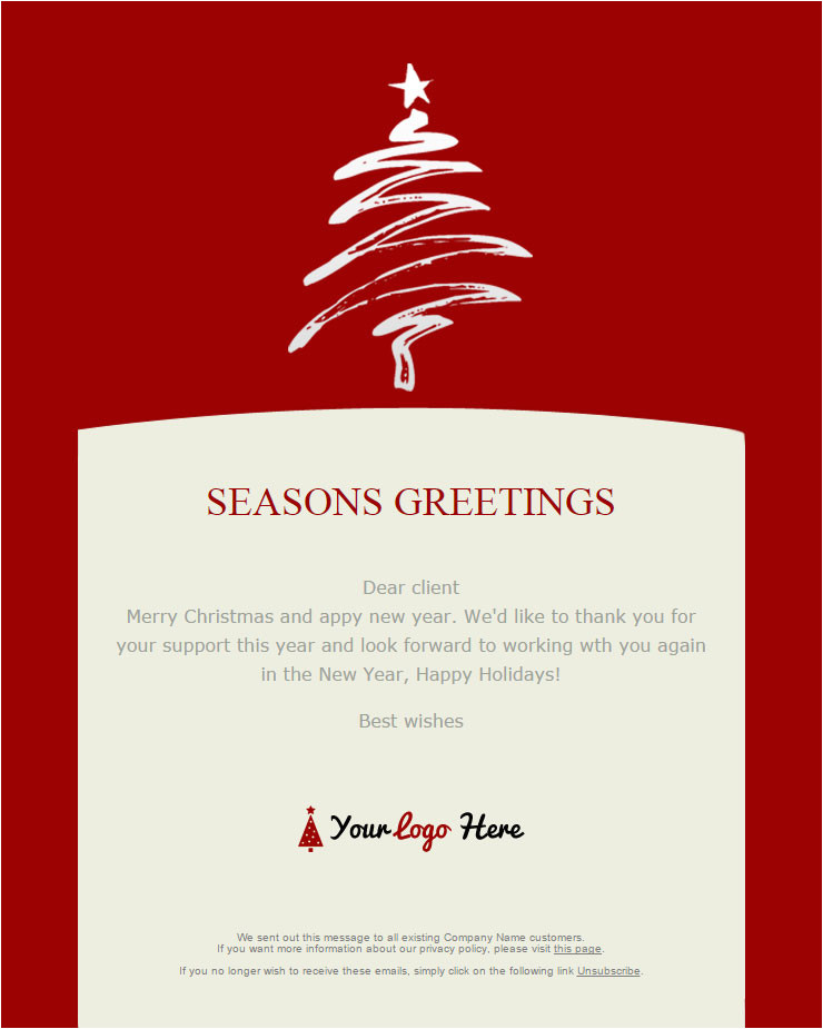 104 free christmas and new year email templates for sendblaster