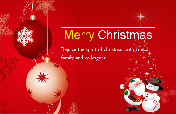 colorful christmas cards