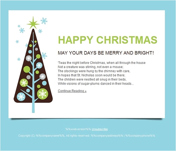 all for christmas seasonal cards email templates and landing pages