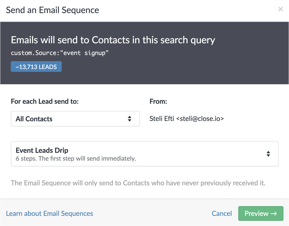 5 cold email templates that will generate warm leads for your sales team
