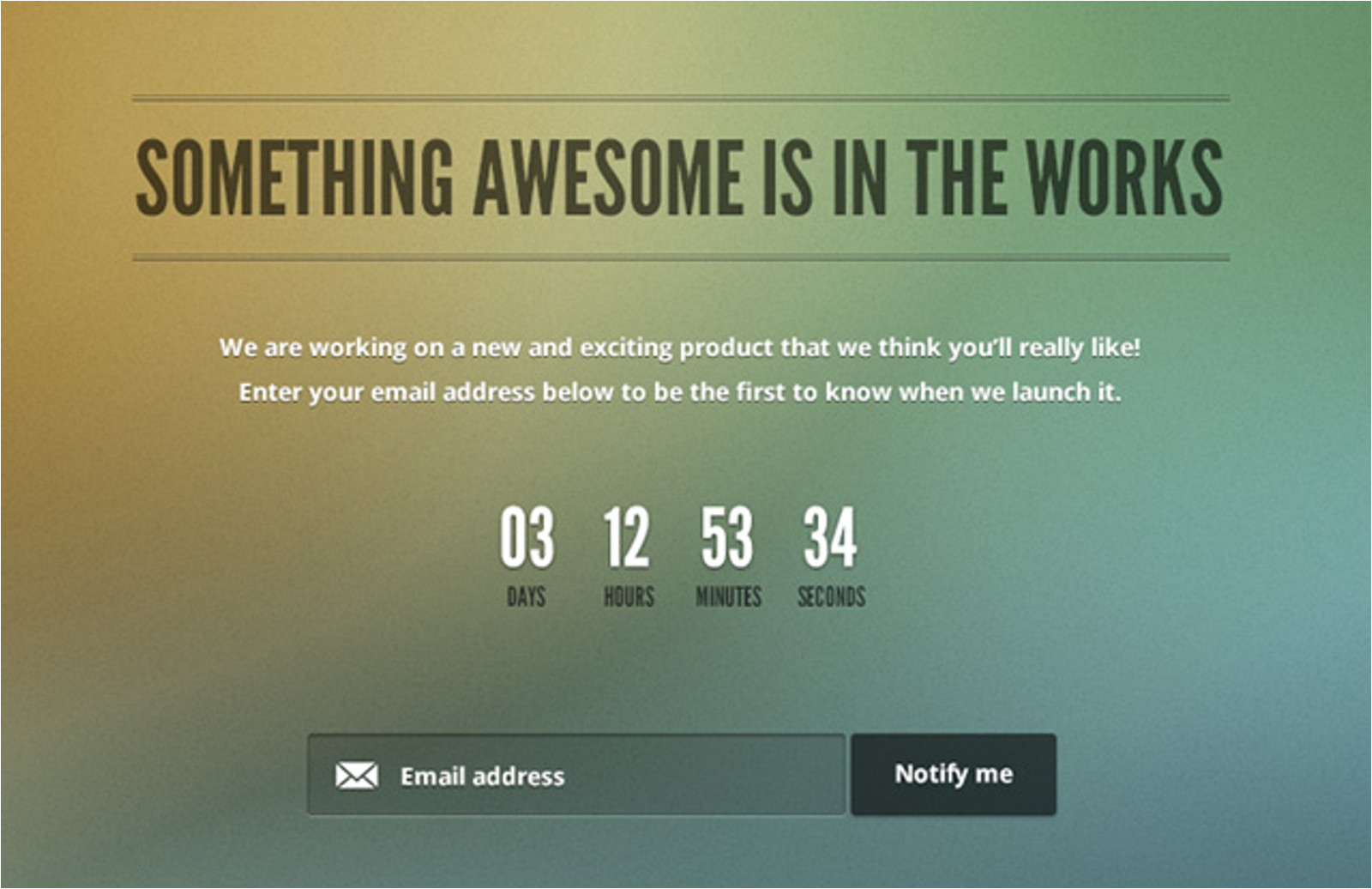 Coming soon Email Template Free Coming soon Page Template Medialoot