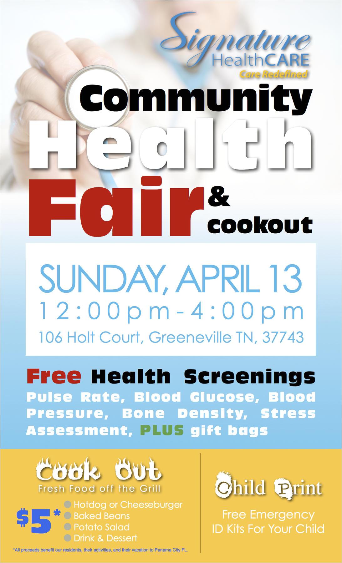 shc to host community health fair