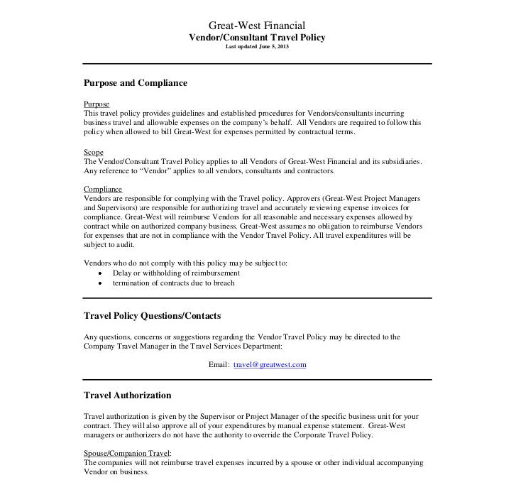 policy template in pdf