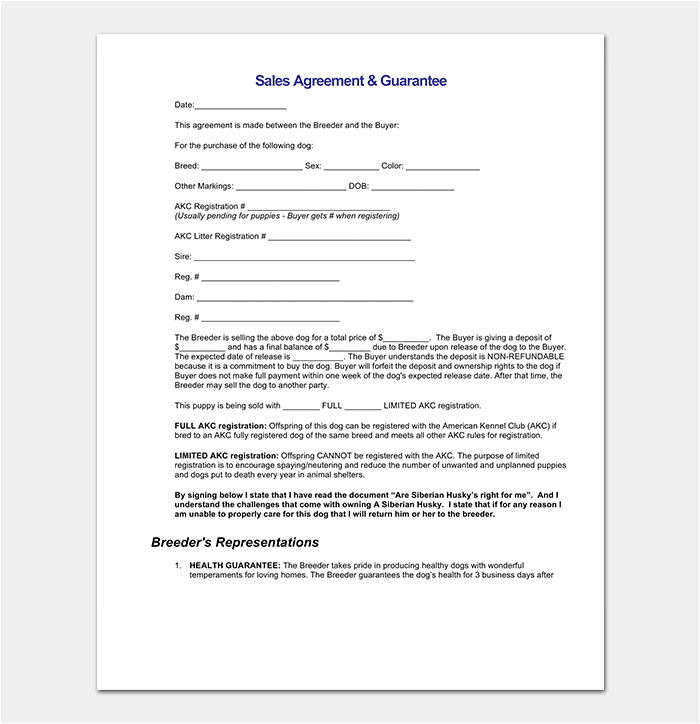 Conditional Contract Template Conditional Sale Agreement 17 Samples Examples Templates
