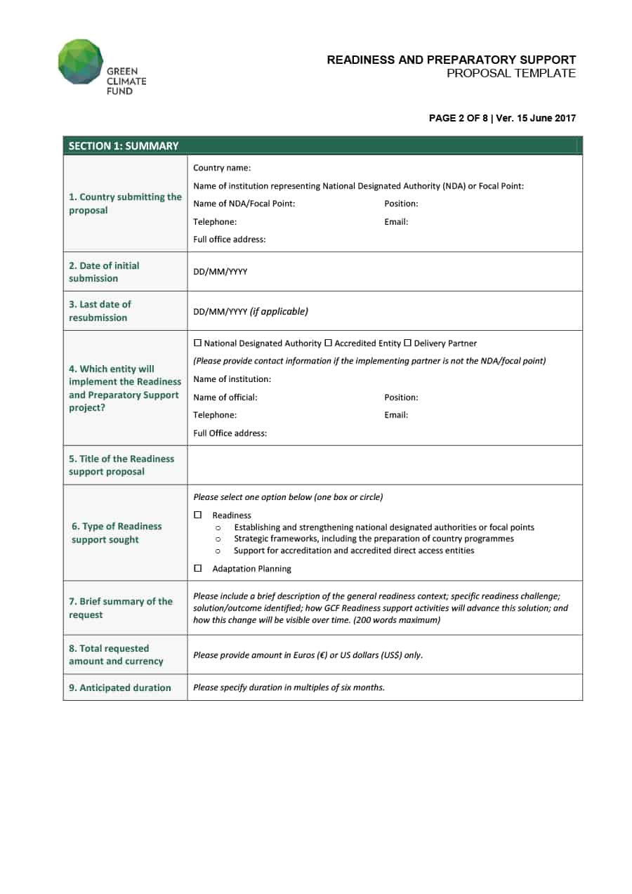 consulting proposal templates