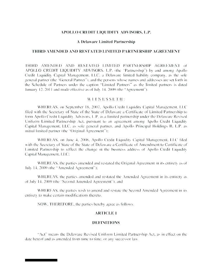 contract amendment template