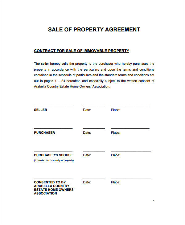 Contract for Sale Of Land Template 22 Sales Contract Templates Word Pages Free
