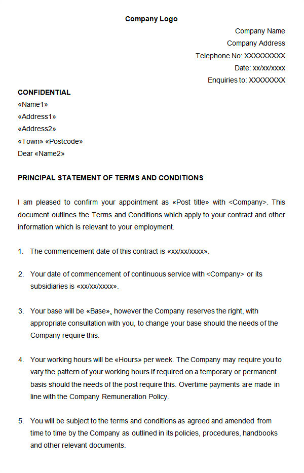 Contract Of Employment Uk Template 23 Hr Contract Templates Hr Templates Free Premium