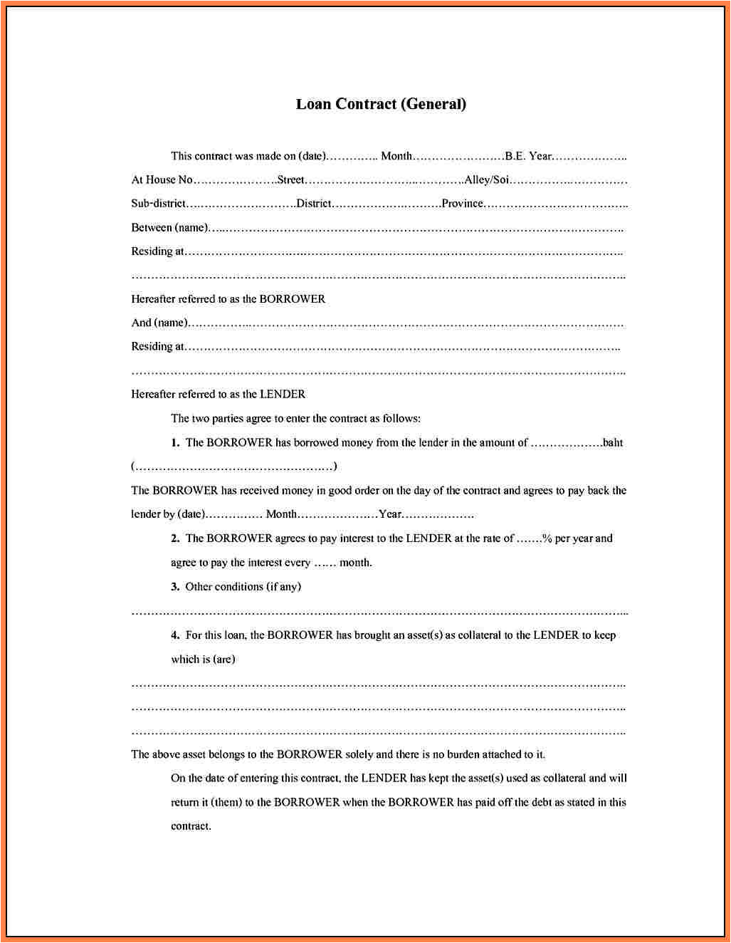 8 partnership agreement template south africa