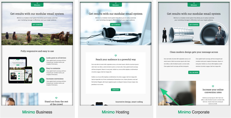 customize email marketing fresh email templates