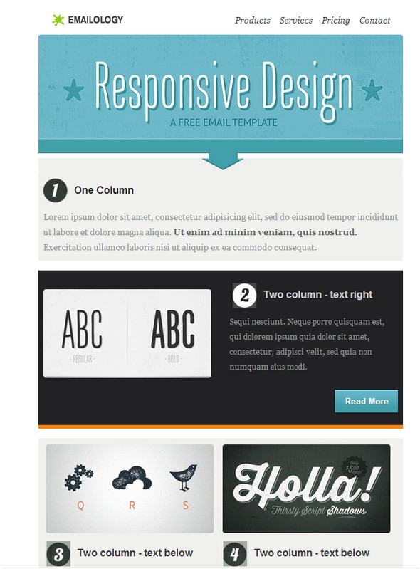 best responsive html email templates