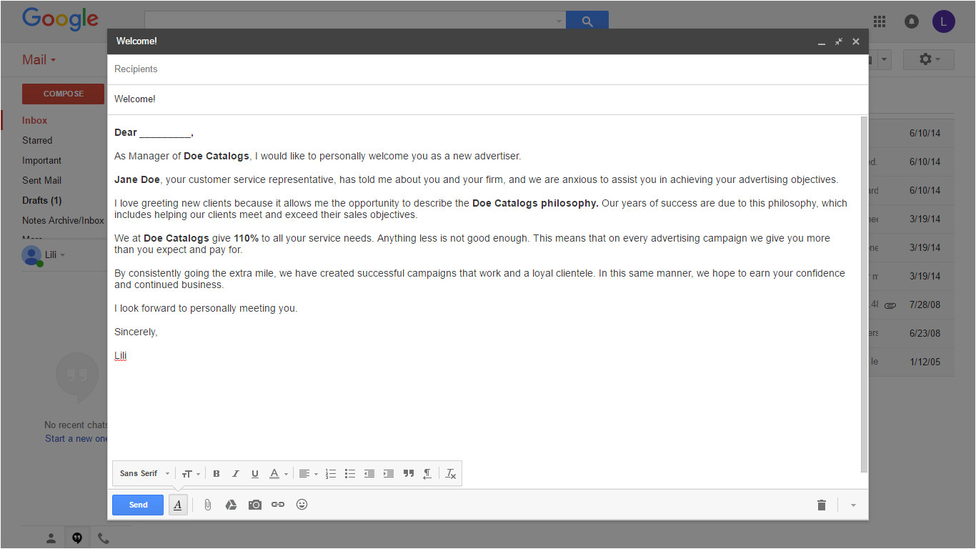 google tip how to create your own email