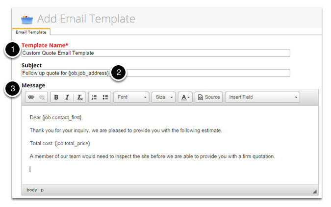 205467276 creating your own email template