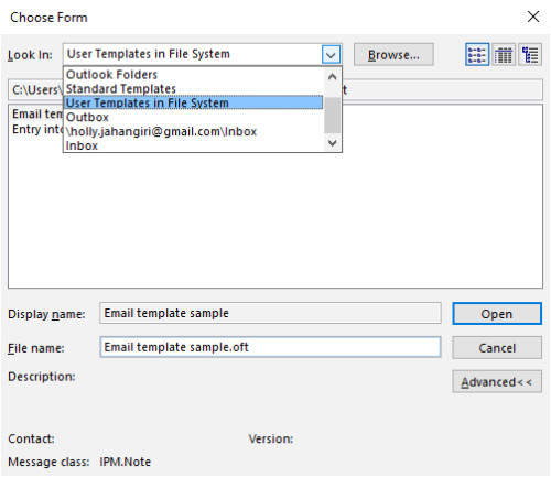 download free software creating and using templates in outlook