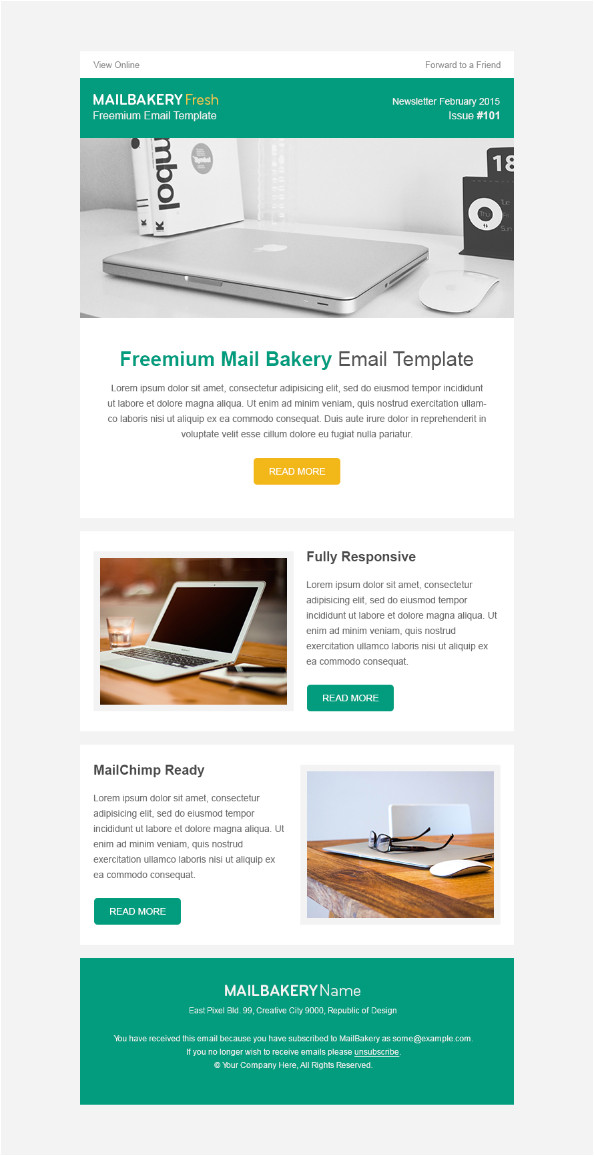 how to design a newsletter template part 1
