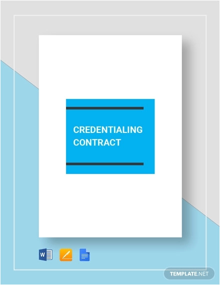 contract examples word