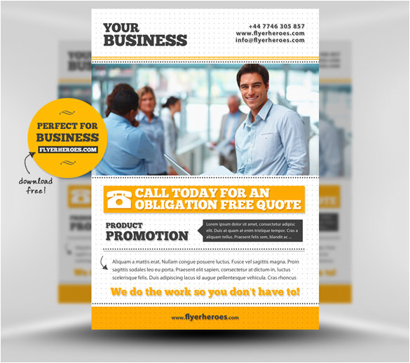 Custom Flyer Templates Free 25 Fabulous Free Business Flyer Templates Indesign