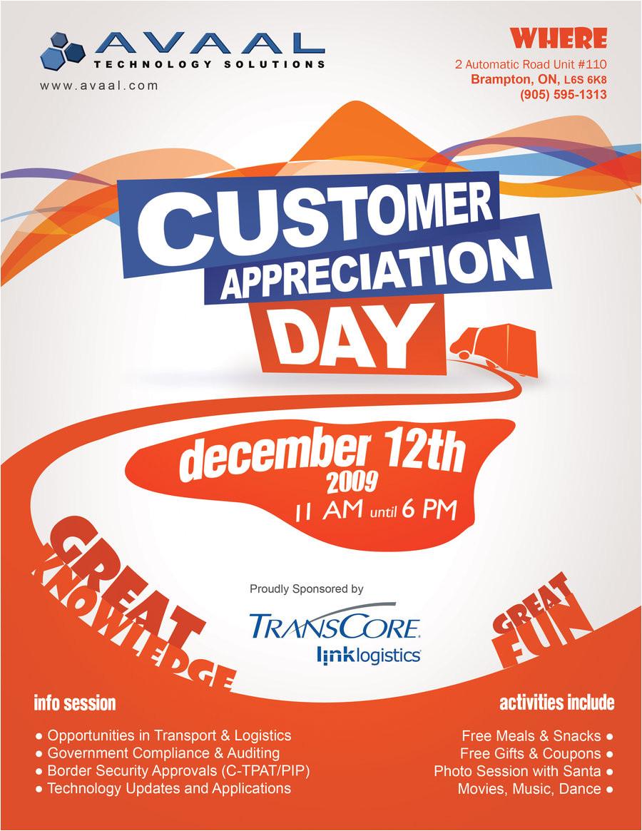 customer appreciation flyer 169391606