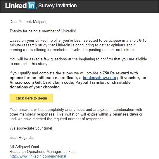 sample survey email invitation 112214767