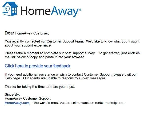 whats the point an unactionable transactional survey