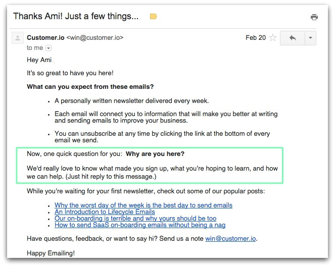 automated email templates