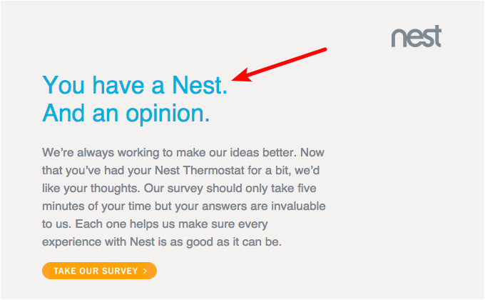 customer feedback email template samples